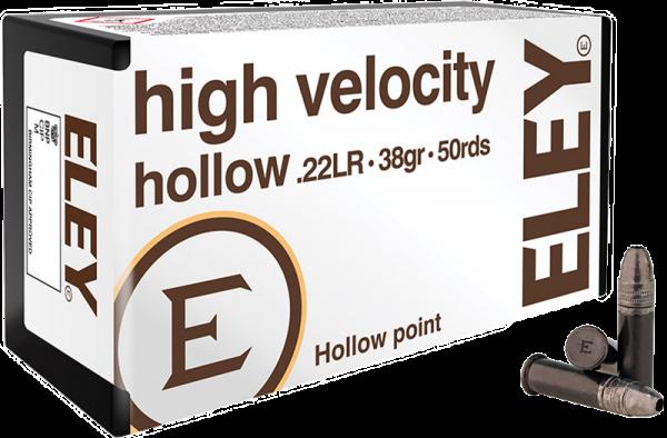 Eley High Velocity Hollow .22 LR HP 38 grs Kleinkaliberpatronen