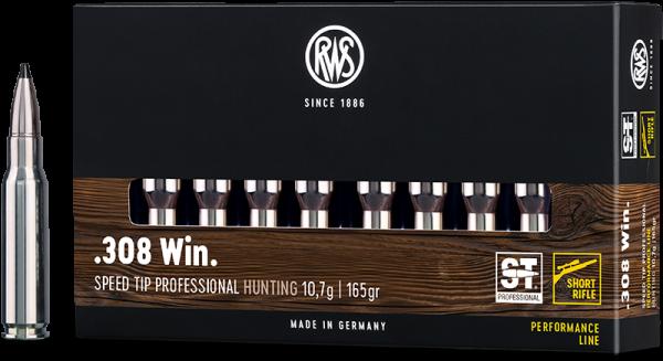 RWS Short Rifle SPEED TIP PRO .308 Win 165grs HP Büchsenmunition