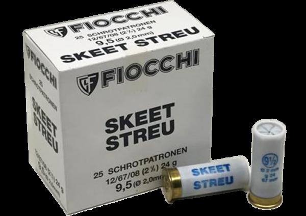 Fiocchi Skeet Streu 12/67 24 gr Schrotpatronen