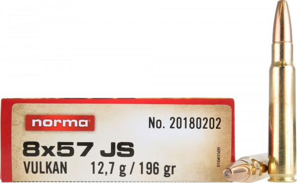 Norma 8 x 57 IS 12,70g - 196grs Norma Vulkan Büchsenmunition