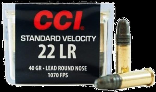 CCI Standard Velocity .22 LR LRN 40 grs Kleinkaliberpatronen 1