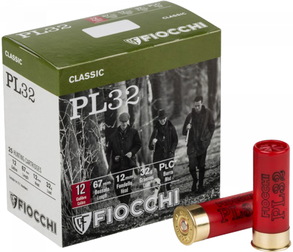 Fiocchi PL 32 12/67 32 gr Schrotpatronen 1