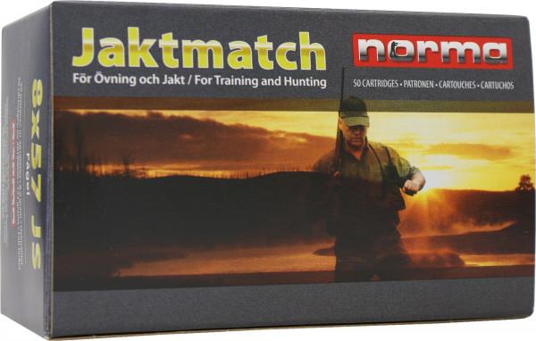 Norma 6,5 x 55 Swedish 7,78g - 120grs Norma Jaktmatch FMJ Büchsenmunition