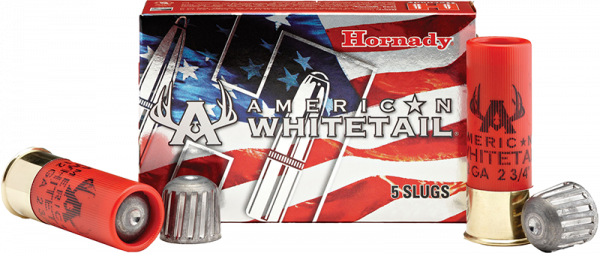 Hornady American Whitetail 12/70 Rifled Slug 437 grs Flintenlaufgeschoss
