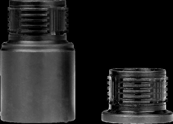 A-TEC A-Lock Mini Schalldämpfer Adapter 1