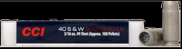 CCI Shotshell .40 S&W CCI Bleischrot Nr.9 88 grs Pistolenpatronen