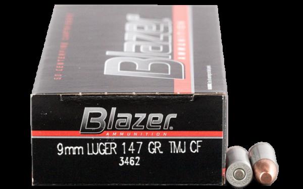 Blazer Clean-Fire 9mm Luger (9x19) TFMJ 147grs Pistolenpatronen