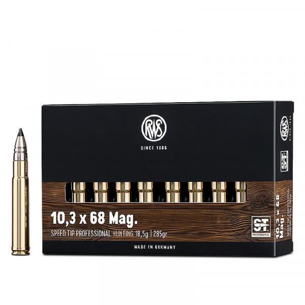 RWS Speed Tip Pro 10,3 x 68 Mag 18,47g - 285grs HP Büchsenmunition