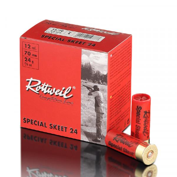Rottweil Special Skeet 12/70 24g 2mm Schrotpatronen