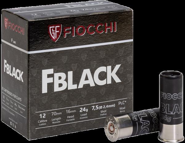 Fiocchi F Black 12/70 24 gr Schrotpatronen