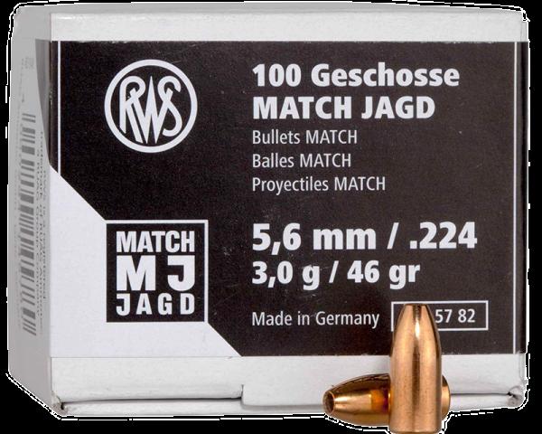 RWS Match Jagd Langwaffengeschosse 1