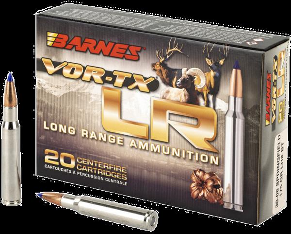 Barnes VOR-TX LR .30-06 Springfield LRX 175 grs Büchsenpatronen