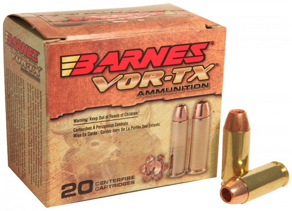 Barnes VOR-TX 10mm Auto TAC-XP 155 grs Pistolenpatronen