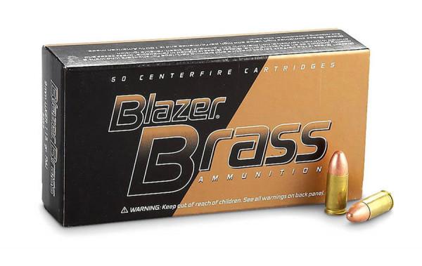 Blazer 9mm 7,45g - 115grs FMJ Pistolenmunition