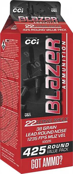Blazer High Velocity .22 LR LRN 38grs Kleinkaliberpatronen 1