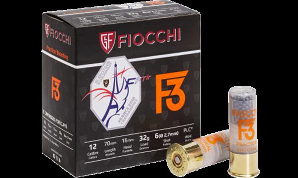 Fiocchi F3 Practical Shooting 12/70 32 gr Schrotpatronen