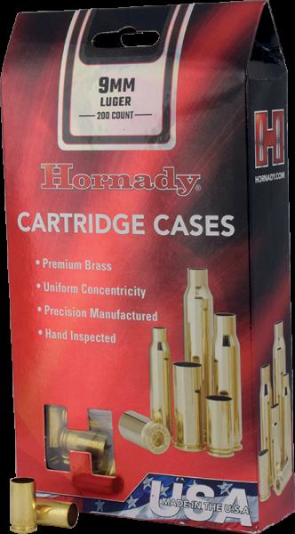 Hornady 9mm Luger (9x19) Kurzwaffen Hülsen 1