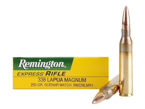 Remington .338 Lapua Mag 16,20g - 250grs Scenar