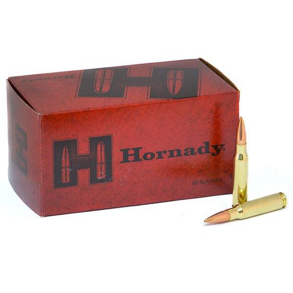 Hornady Match .308 Win 10,89g - 168grs BTHP Büchsenmunition VPE 50 #80972