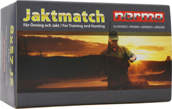 Norma 9,3 x 62 15,03g - 232grs Norma Jaktmatch FMJ Büchsenmunition