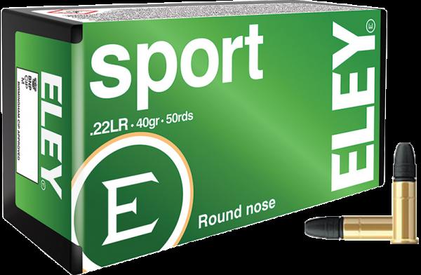 Eley Sport .22 LR LRN 40 grs Kleinkaliberpatronen