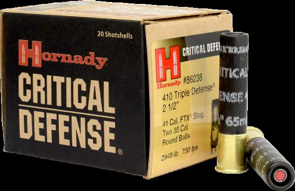 Hornady Critical Defense 410/70 FTX 235 grs Revolverpatronen