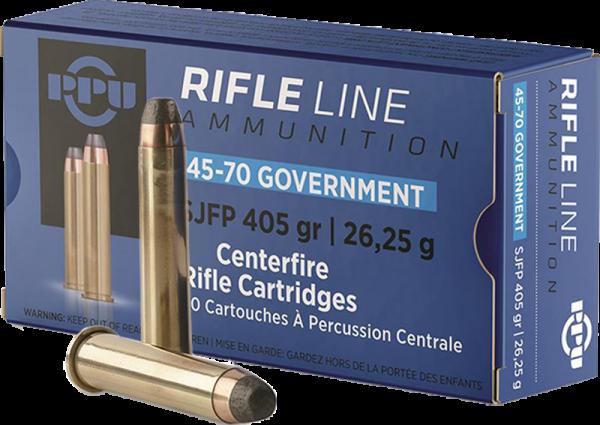 Prvi Partizan Rifle Line .45-70 Government SJSP Flat 405 grs Büchsenpatronen