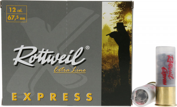 Rottweil Express 12/67,5 33g 8,6mm Schrotpatronen