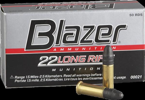 Blazer High Velocity .22 LR LRN 40grs Kleinkaliberpatronen 1