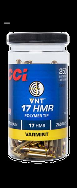CCI VNT .17 HMR CCI Varmint Tip 17 grs Kleinkaliberpatronen 1