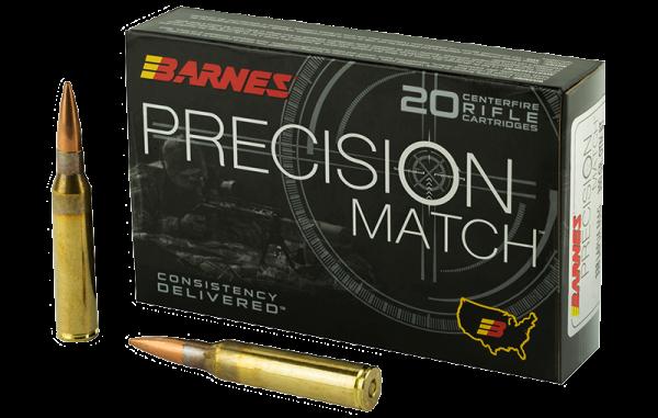 Barnes Precision Match .338 Lapua Mag OTM 300 grs Büchsenpatronen