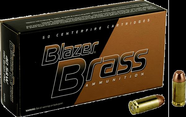 Blazer Brass .40 S&W FMJ 180grs Pistolenpatronen