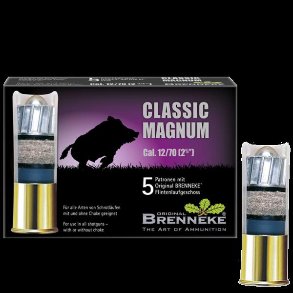 Brenneke 12/70 Classic Magnum 490 grs Flintenlaufgeschoss