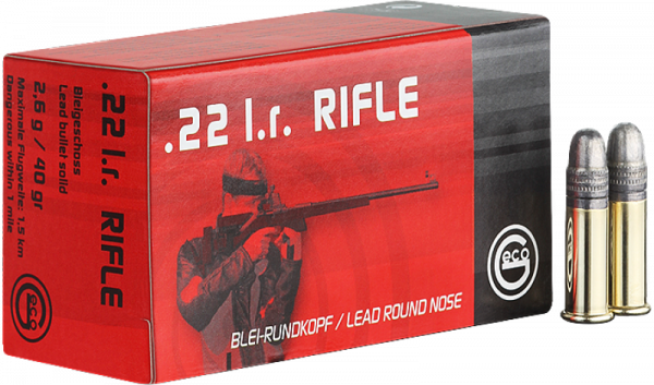 Geco Rifle .22 LR LRN 40 grs Kleinkaliberpatronen