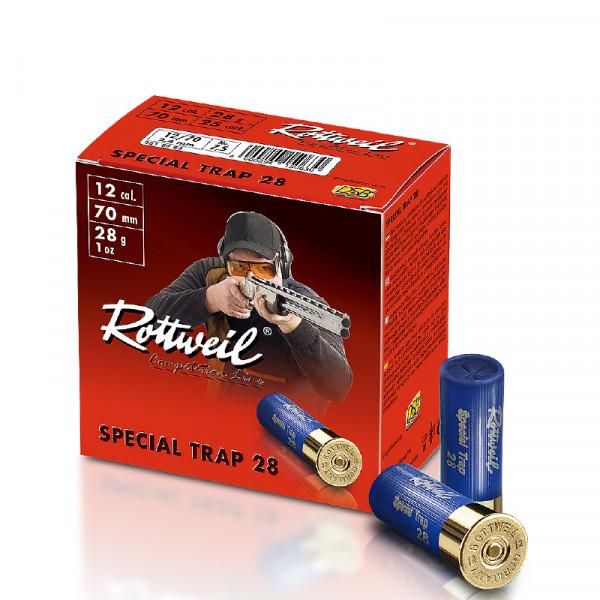 Rottweil Special Trap 12/70 28g 2,4mm Schrotpatronen
