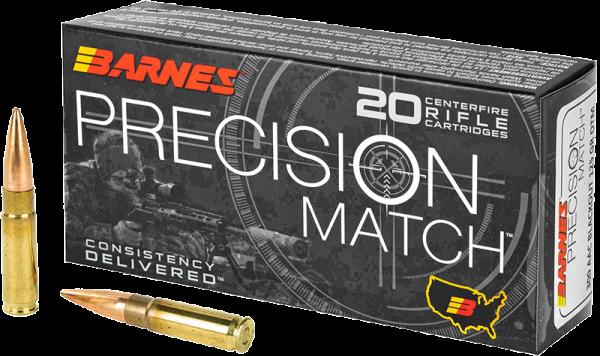 Barnes Precision Match .300 AAC Blackout OTM 125 grs Büchsenpatronen