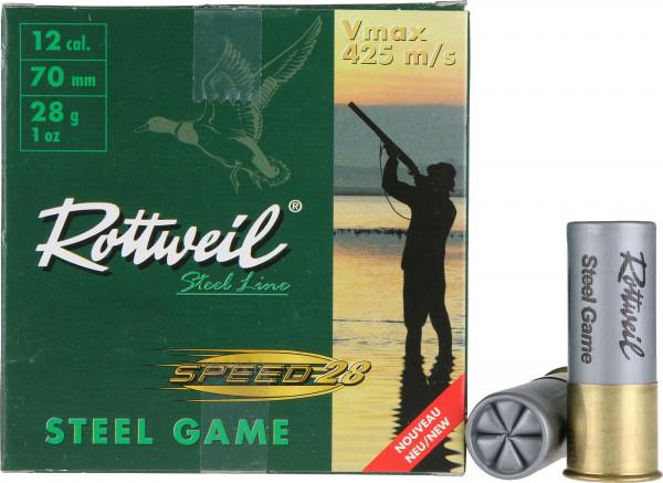 Rottweil Steel Game Speed 28 12/70 28g 3mm Schrotpatronen