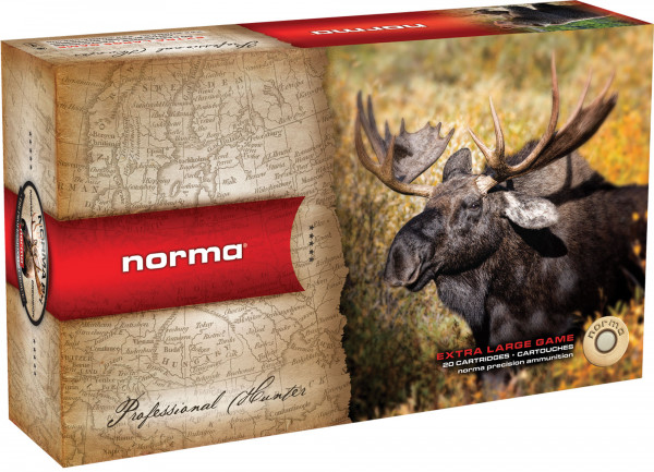 Norma .375 H&H Mag 19,44g - 300grs Norma Swift A-Frame Büchsenmunition
