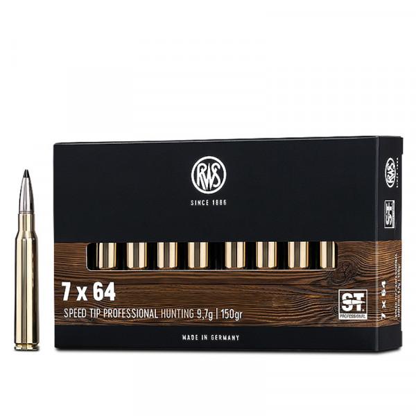 RWS Speed Tip Pro 7 x 64 9,72g - 150grs HP Büchsenmunition