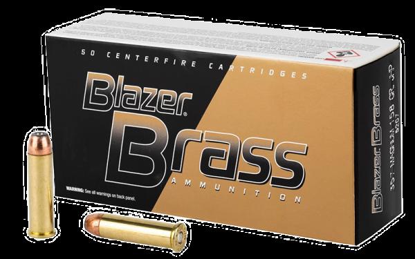 Blazer Brass .357 Mag JHP 158grs Revolverpatronen