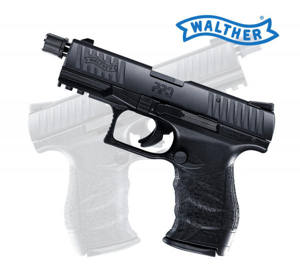 Walther PPQ 22 M2 Tactical  22 l r  Schalldämpferlauf Selbstladepistole  510 01 01