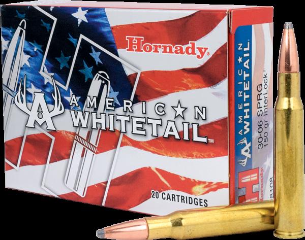 Hornady American Whitetail .30-06 Springfield InterLock 150 grs BŸchsenpatronen
