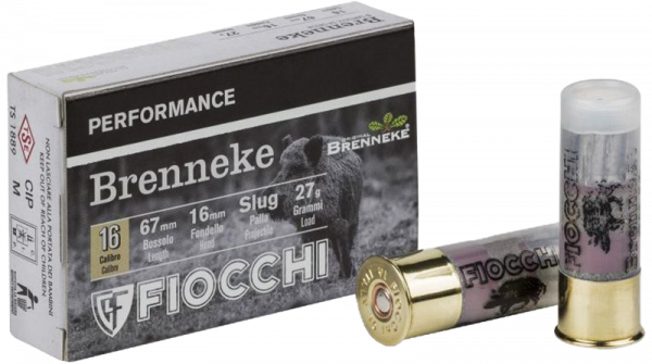 Fiocchi Performance 16/67 Brenneke Classic 417 grs Flintenlaufgeschoss