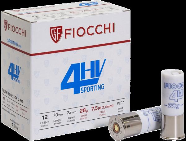 Fiocchi 4 HV 12/70 28 gr Schrotpatronen