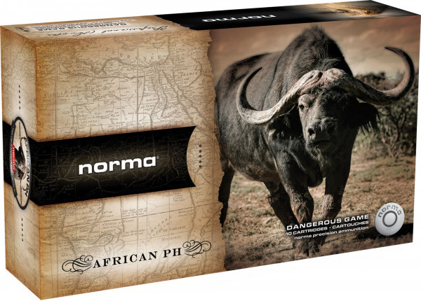 Norma .500 Nitro Express 3 36,94g - 570grs Woodleigh Teilmantel Büchsenmunition