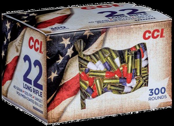 CCI Patriot .22 LR LRN 40 grs Kleinkaliberpatronen