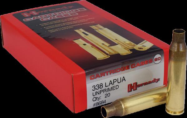 Hornady .338 Lapua Mag Langwaffen Hülsen