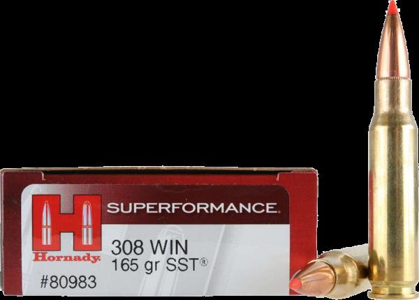 Hornady Superformance .308 Win SST 165 grs BŸchsenpatronen