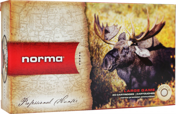 Norma .358 Norma Mag 16,20g - 250grs Norma Oryx Büchsenmunition