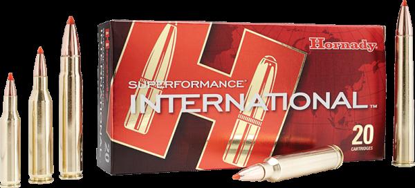 Hornady Superformance International .243 Win GMX 80 grs BŸchsenpatronen